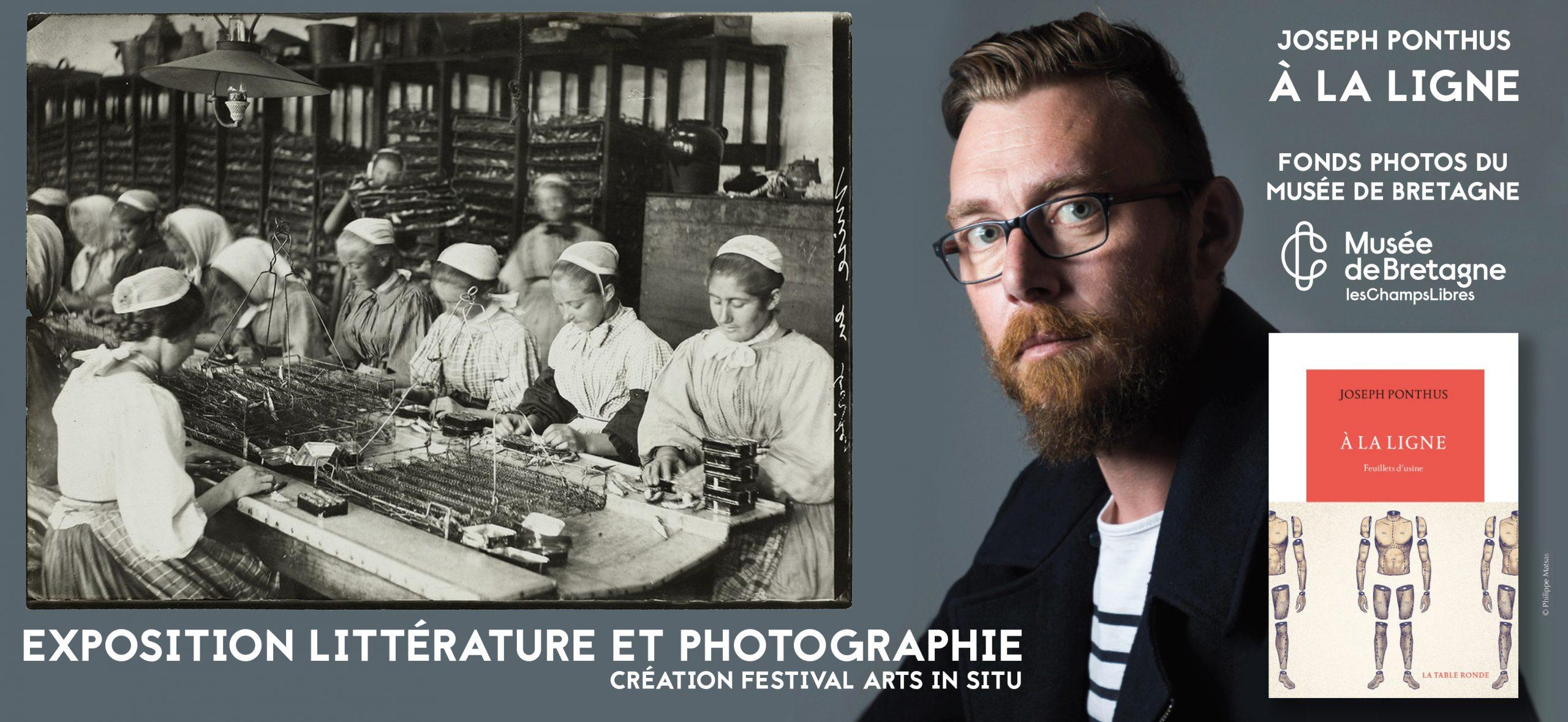 A LA LIGNE – EXPOSITION LITTERATURE ET PHOTOGRAPHIQUE